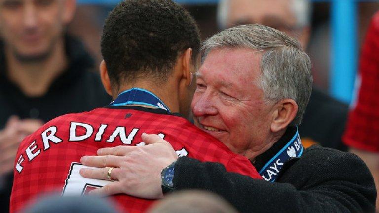 Сър Алекс Фъргюсън бе начело на Манчестър Юнайтед в продължение на 27 години