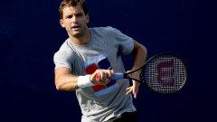 Скоростна победа за Григор Димитров на старта на US Open