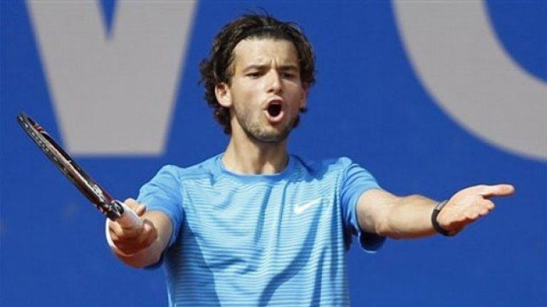 Григор Димитров изигра силен мач на четвъртфиналите в Мюнхен, но отстъпи на Флориан Майер