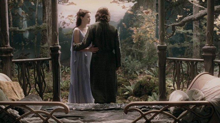 """Лив Тайлър във """"Властелинът на пръстените: Двете кули"""""""