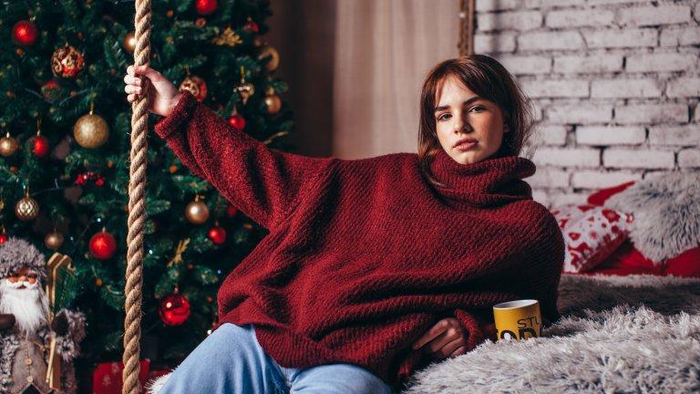 Оувърсайз пуловериИ отново удобството е преди всичко, защото пуловерите, които нарочно са с няколко размера по-големи, са сред модерните находки за сезона. Дали ще ги комбинирате с тесни дънки, клин или по-широки джинси - изборът зависи изцяло от вас.
