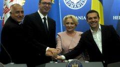 България, Гърция, Сърбия и Румъния заедно в големи инфраструктурни проекти
