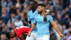 Победата не подлежеше на съмнение още в 12-ата минута, когато Агуеро вкара втория гол