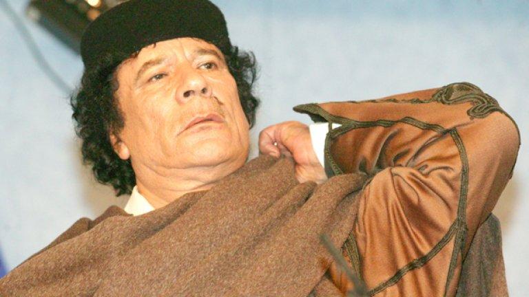 Кадафи - обект на възхищение, присмех и отвращение...