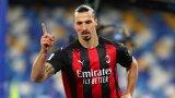 Златан ще играе за Милан и на 40 години