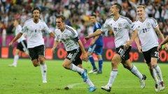 Четиримата голмайстори за Германия