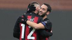 Милан се изложи в началото, но после се вдигна за могъщ обрат