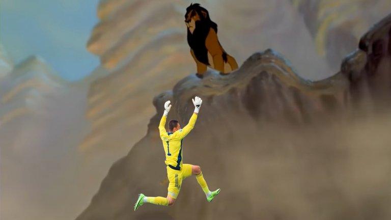 """Маршал в ролята на Муфаса от """"Цар Лъв"""""""