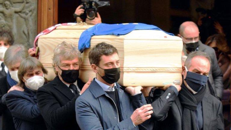 Ограбиха дома на Паоло Роси по време на погребението