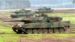 Германските медии спекулират, че събирането на старите танкове е заради кризата в Украйна