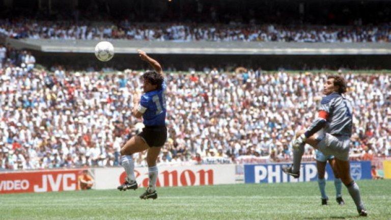 Диего Марадона Дон Диего се бори с наркотиците от три десетилетия. Наказаха го за 15 месеца през 1991-а заради употребата на кокаин. Три години по-късно бе пратен у дома по време на световното първенство, където бе спипан с ефедрин.