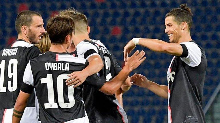 Ювентус се върна към победите, Милан громи при подновяването