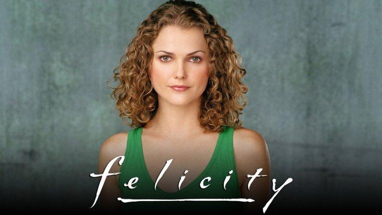 """Felicity / """"Фелисити"""" Много малко са по-сладките актриси от Кери Ръсел, която заслужено взе и """"Златен глобус"""" за ролята си на Фелисити в едноименния сериал. Колежанските драми на младата жена се побраха в четири сезона между 1998 и 2002 г. и накараха тийн публиката да се влюби в смелата героиня на Ръсел."""