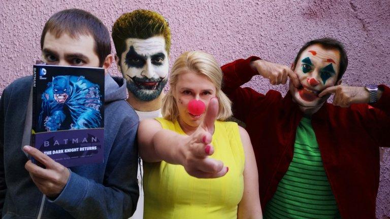 От ляво надясно: Благой Д. Иванов, Антон Биров, Зузи Аспарухова и Драго Симеонов се впускат в разговор за един от най-добрите и обсъждани филми на годината.