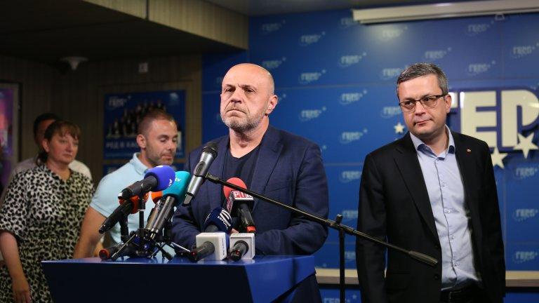От партията на Бойко Борисов виждат бъдещо правителство в коалиция с БСП или ДПС