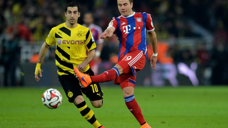 Марио Гьотце, Байерн Гьотце не е чист нападател, но ще свърши работа на Юнайтед. А проблемите около бъдещето му в Байерн правят шансовете на Ван Гаал доста добри.
