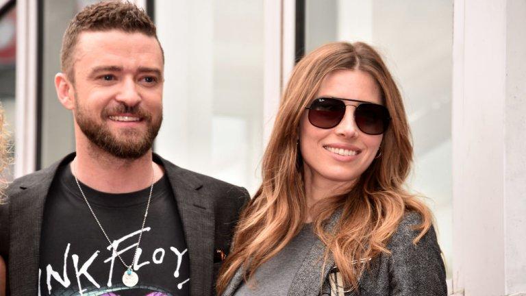 Двойката успява да скрие бременност на актрисата, за която стана ясно, че миналата седмица е родила момче