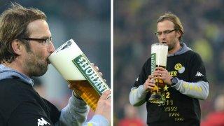 Юрген Клоп - почитател на бирата и вечен оптимист.