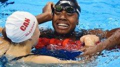 История в Рио! Разделен златен медал и първа чернокожа плувкиня със злато на олимпийски игри.