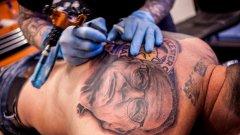 В град Лестър има бум на татуировките след титлата на едноименния тим.