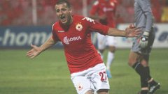 Пети гол на Зику и шеста победа на ЦСКА
