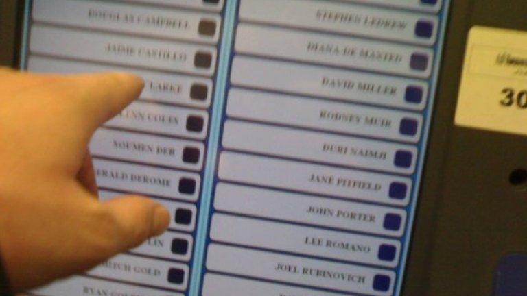 Онлайн гласуването е удобна, удачна и напълно приложима възможност за улеснение на избирателите