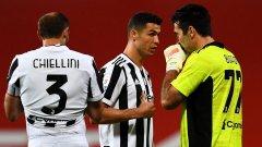 Киелини: Роналдо трябваше да си тръгне по-рано