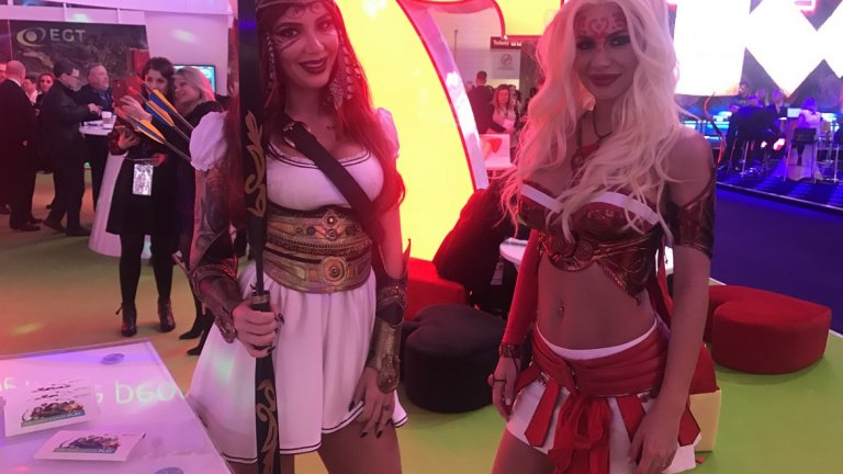 ICE 2018 - ICE Totally Gaming 2018