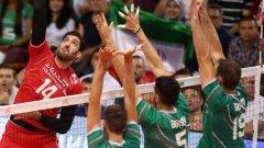 България загуби категорично от резервите на Иран в Пловдив