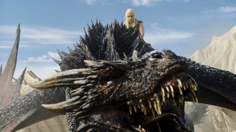 Драконите и до днес имат място в културата, най-вече във фентъзито - дали в книжен или игрален формат. (на снимката: кадър от сериала на HBO Game of Thrones)