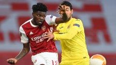Гредите спряха Арсенал, финалът в Лига Европа няма да е английски