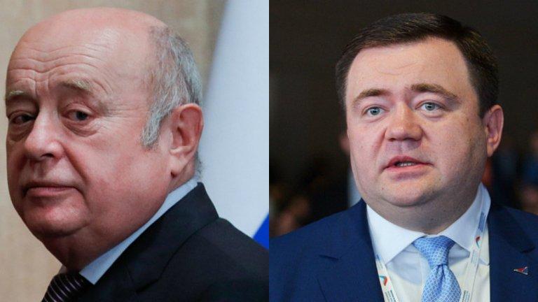 """Пьотр Фрадков - син на бившия директор на Службата за външно разузнаване и бивш премиер Михаил Фрадков  Фрадков-младши е директор на """"Руски експортен център"""" АД и председател на съвета на директорите на """"Росексимбанк"""". През януари 2018 г. става ясно, че Пьотр Фрадков ще оглави и обновената """"Промсвязбанк"""" - специализираща във финансиране на поръчките от сектора на държавната отбранителна индустрия и големите държавни поръчки. Фрадков е професор по международен бизнес във Висшата школа по икономика в Москва. Братът на Пьотр - Павел е зам.-началник по управлението на имуществото на президентската администрация."""