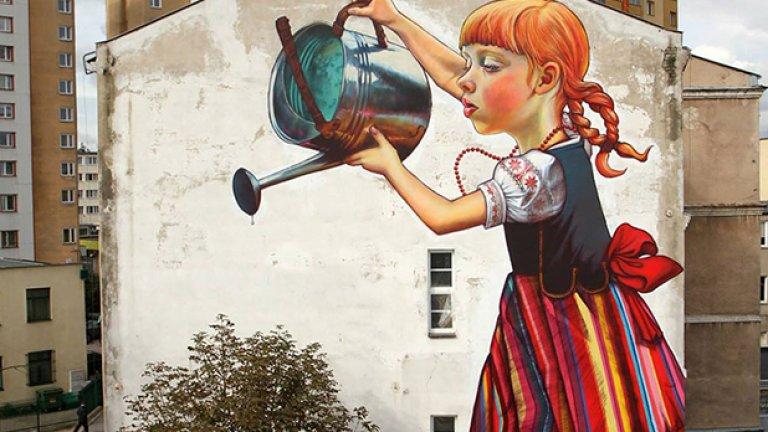 Гигантско момиче,Полша