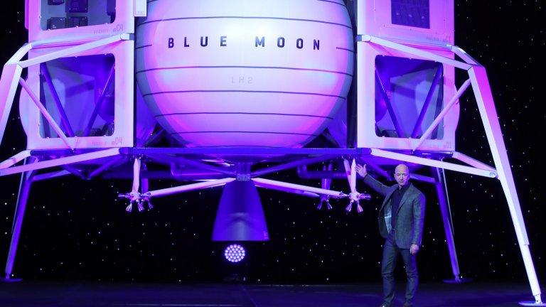 Точно две седмици, след като Безос напусне Amazon, той ще отлети извън орбита на борда на собствена ракета