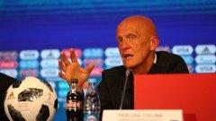 Колина обяви, че ВАР е категоричен успех на Световното в Русия