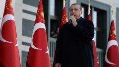 Походът за справедливо правосъдие на опозицията разгневи турският президент