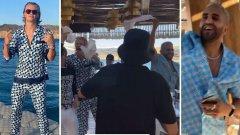 Парти с жени по бикини на яхта, купон с играч на Сити и 30 хил. евро бакшиш: Хааланд разпуска като за последно на гръцки остров
