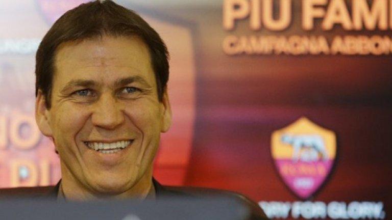 В Рим не знаеха много за Руди Гарсия миналото лято,но сега усещат, че това е човекът, който да върне клуба сред водещите в страната и Европа.