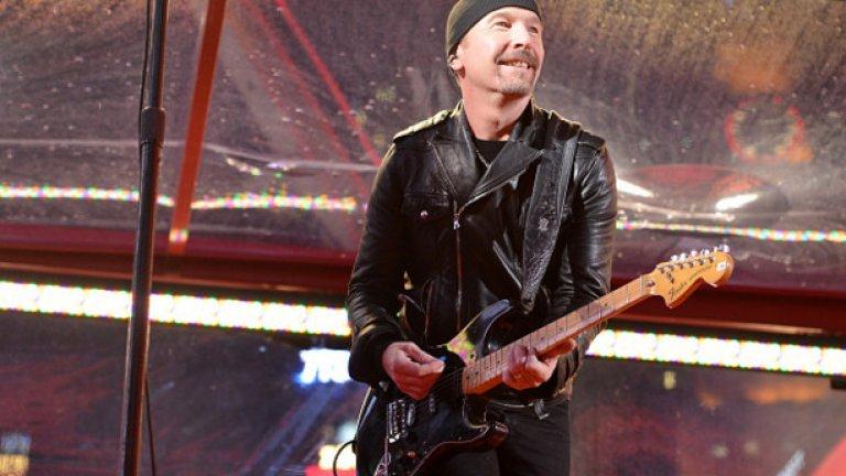 The Edge от U2  Както мама неведнъж ти е казвала, ако приятелите ти държат на теб, няма да ти се подиграват. При Дейв Еванс от U2 се намира близък приятел на име Боно, който да обърне внимание на внушителния му нос и да кръсти китариста The Edge.