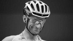 """През 2017 г. от """"Астана"""" обявяват, че лидер за 100-годипното юбилейно издание на Джирото ще е Микеле Скарпони, който така и не доживява бленувания момент."""
