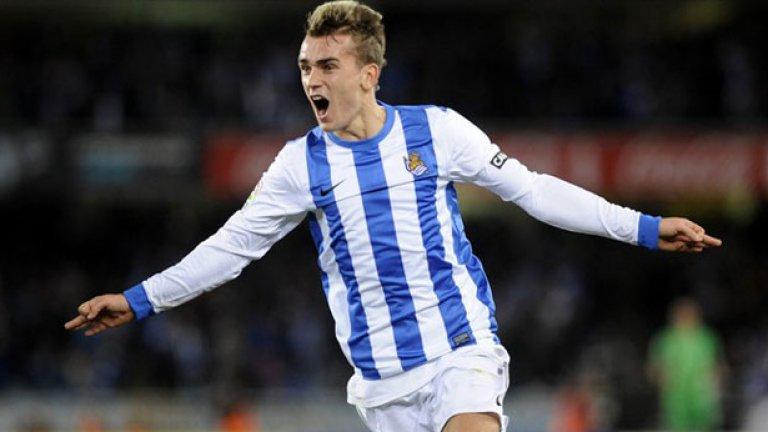 """8. Антоан Гризман -  Звездата на Реал Сосиедад също е свързван с трансфер   на """"Олд Трафорд"""""""