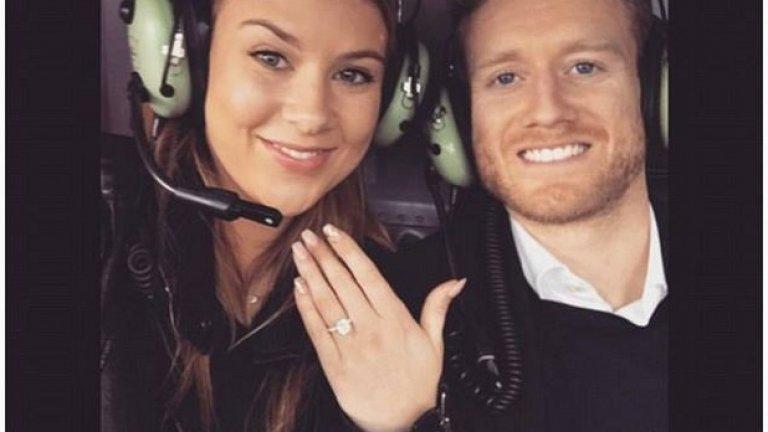 Андре Шурле вече е сгоден