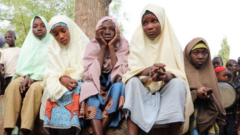 Момичетата са били отвлечени от училище в северната провинция Замфара в петък