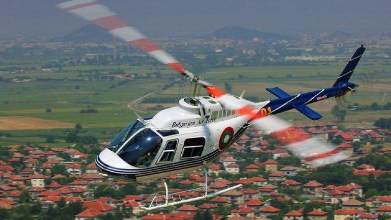 Bell 206B-3 Първият западен тип авиационна техника, която постъпва на въоръжение у нас след края на Варшавския договор. Bell 206B-3 Jet Ranger е доставен през 1999 г. в България и общо са получени шест от тези еднодвигателни вертолети, които се използват основно за обучение.