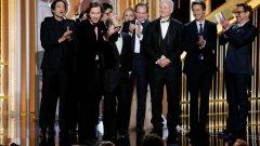 The Grand Budapest Hotel спечели Златен Глобус за най-добра комедия