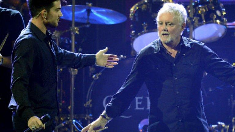 Роджър Тейлър (вдясно) и Брайън Мей са оригиналните членове на Queen, които все още поддържат бандата жива след смъртта на легендарния вокалист Фреди Меркюри и оттеглянето на басиста Джон Дийкън