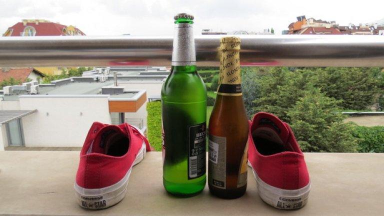 Кецовете влизат в отлична комбинация и със студена бира през лятото. Става и със сайдер, но тъй като Converse са емблема на класиката в обувките, както Бетовен е емблема на класиката в музиката, все пак се спираме на бира