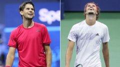 Ето кои ще спорят за титлата на US Open при мъжете