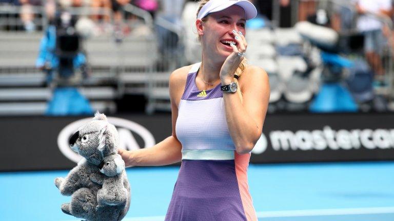 Днешната загуба в трети кръг в Австралия беше последният мач в кариерата на Возняцки