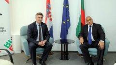 Хърватският премиер Андрей Пленкович също може да разчита на българска подкрепа